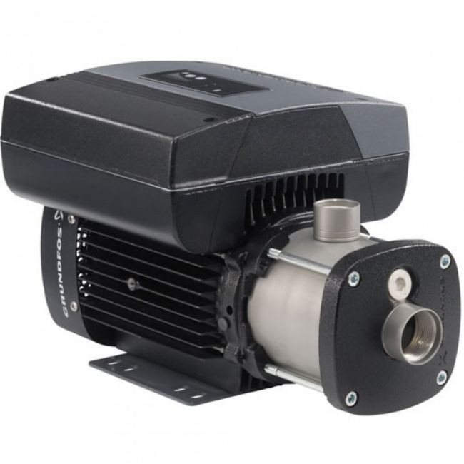 Grundfos CME 1-2, 98394794 0.75HP 200-240V Single Phase Cast Iron CME Multi Stage Centrifugal Pump with AQQV Shaft Seal