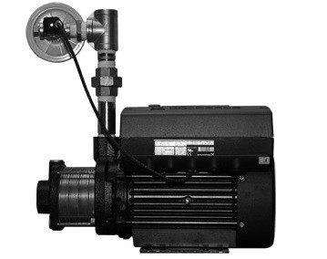 Grundfos CME 1-4 PLUS, 98536057 0.75HP 200-240V Single Phase Stainless Steel CME-PLUS Multi Stage Centrifugal Pump with AQQE Shaft Seal