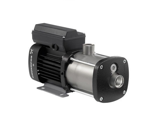 Grundfos CM1-2, 97568204 0.8HP 115/230V Single Phase Cast Iron CM Multi Stage Centrifugal Pump with AQQE Shaft Seal